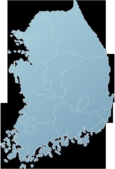 대한민국지도